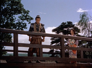 A scene from Samurai I: Mushashi Miyamoto