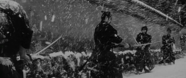 Toshiro Mifune in battle.