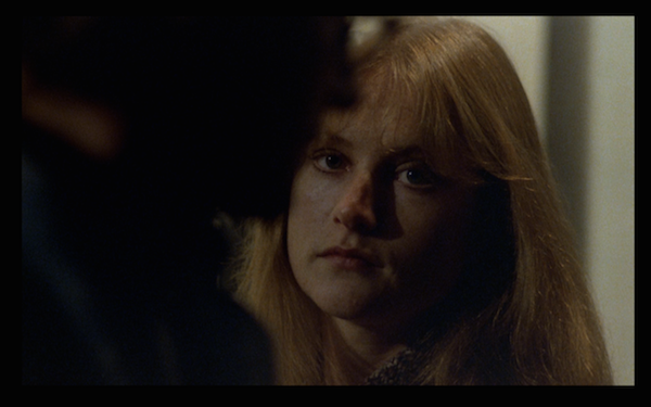 Isabelle Huppert appears about 40 minutes into the movie.