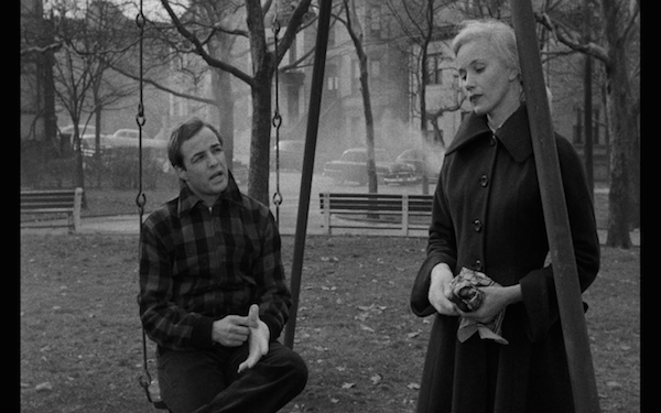 The glove scene with Eva Marie Saint