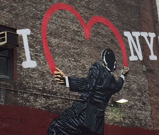 Me too, Banksy.