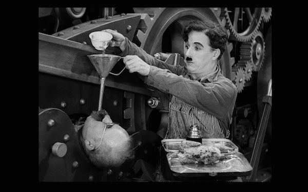 chaplin lunch machine