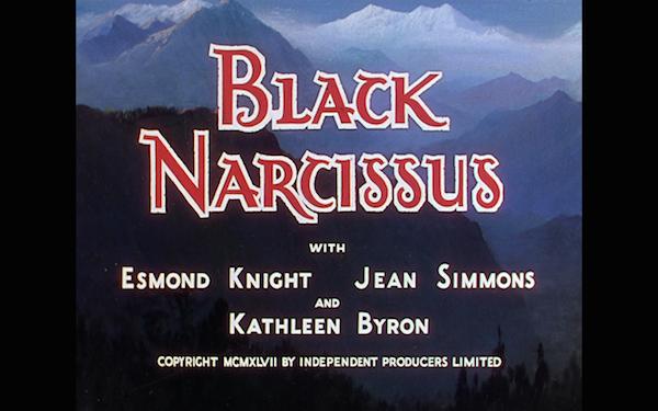 black narcissus - title