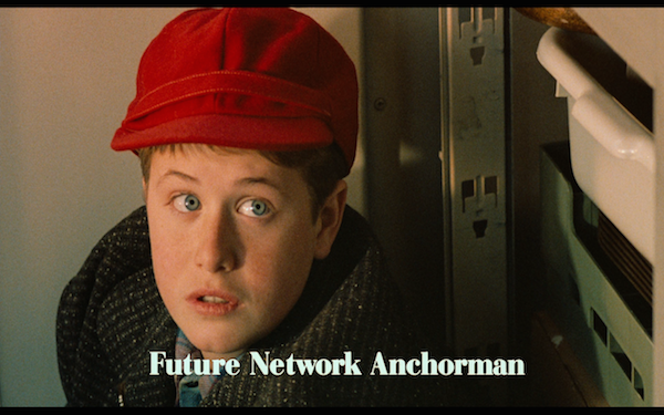 broadcast news - future network anchorman