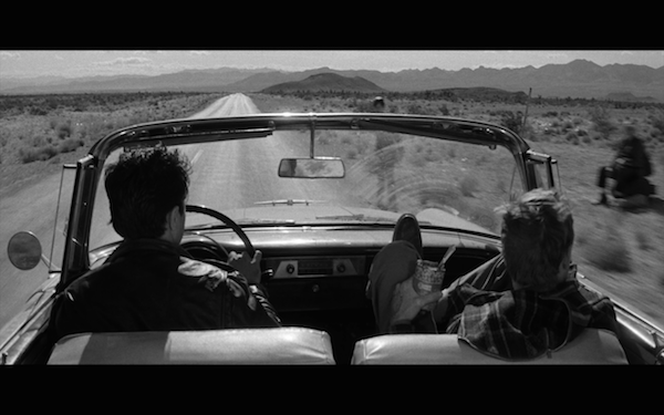 in cold blood - perry and dick in car